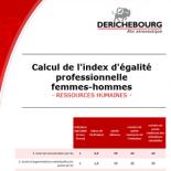 Index égalité professionnelle femme-homme